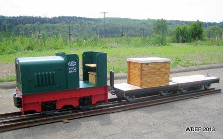 Feldbahnlok GMEINDER
